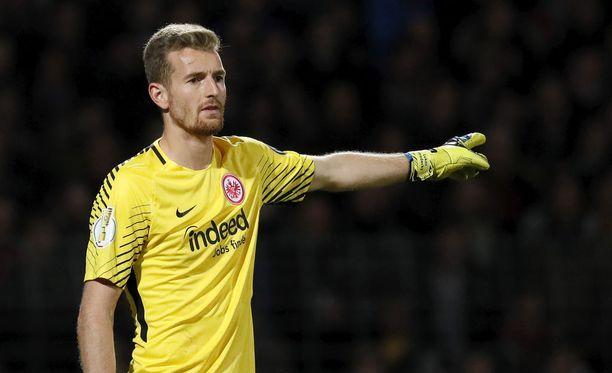 Lukas Hradecky on Frankfurt-koutsi Niko Kovacin luottamies.