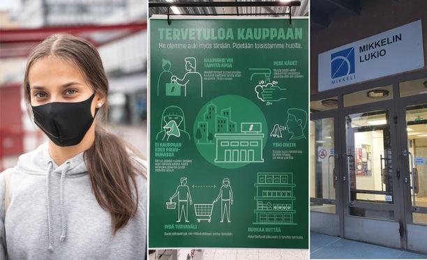 Terveyden ja hyvinvoinnin laitos laajensi maskisuositusta torstaina julkisesta liikenteestä myös muihin sisätiloihin.