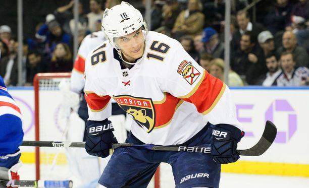 Aleksander Barkov on Florida Panthersin tärkein pelaaja.