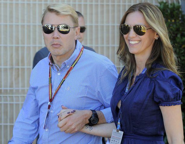 Mika Häkkinen nauttii elämästä Monacossa vaimonsa Marketan ja lastensa kanssa.