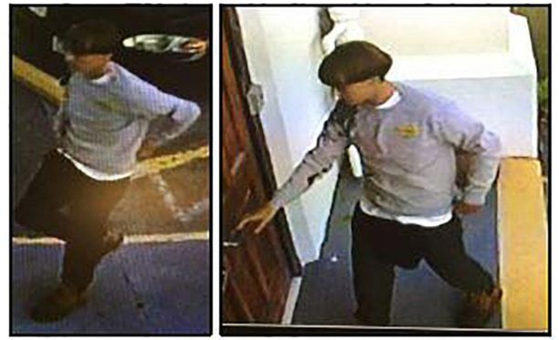 Poliisi on julkaissut kuvan epäillystä ampujasta.