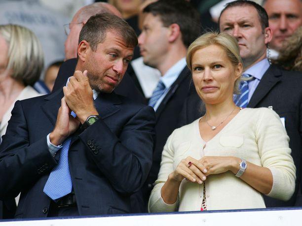 Roman Abramovitsh on ollut naimisissa kolme kertaa. Toisen vaimonsa, Irinan (kuvassa), kanssa hän oli naimisissa vuosina 1991-2007.