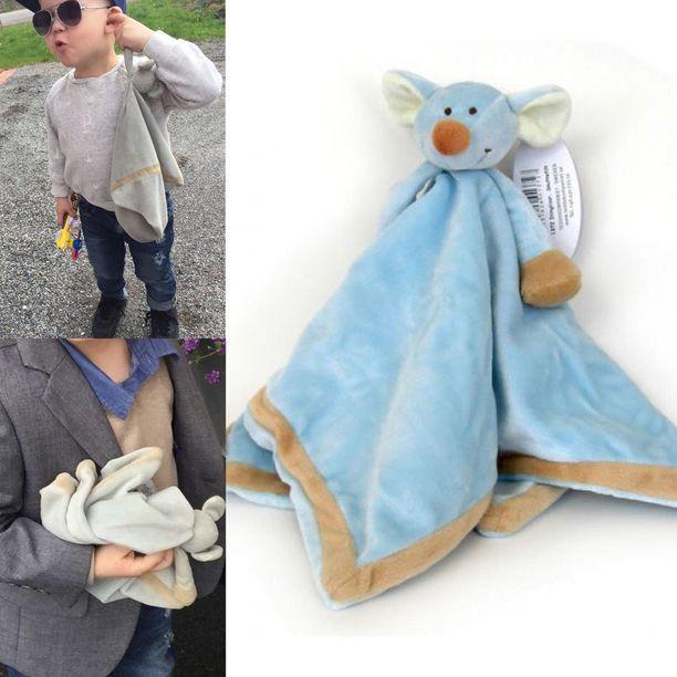 3-vuotiaalla Mikael Koskella on suru puserossa, koska hänen rakas Vertti-lelunsa on kadonnut.