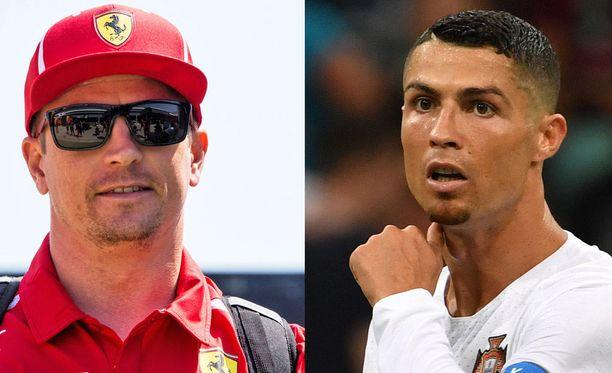 Kimi Räikkösen ja Cristiano Ronaldon sopimuskuviot ovat viime aikoina olleet urheilumaailman isoja puheenaiheita.