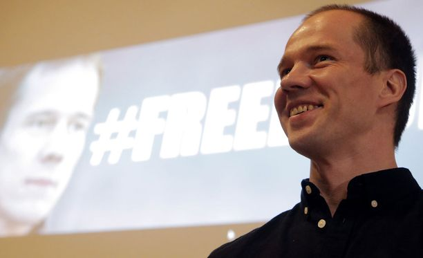 Aktivisti Ildar Dadin pääsi vapaaksi helmikuun lopussa vietettyään vankilassa yli vuoden.