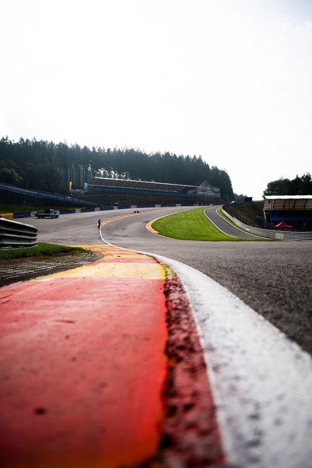 Eau Rouge on F1-sarjan legendaarisimpia paikkoja.