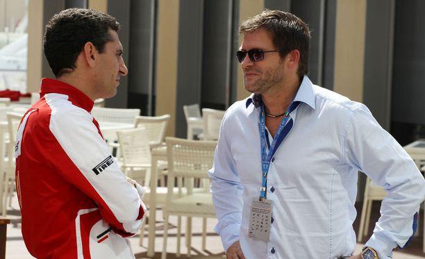 Steve Robertson (oikealla) tietää, että Kimi Räikkösen motivaatio on huipussaan.