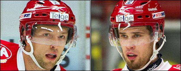 Arto Laatikaisen (vas.) ja Markus Seikolan alkukausi on ollut synkkä.