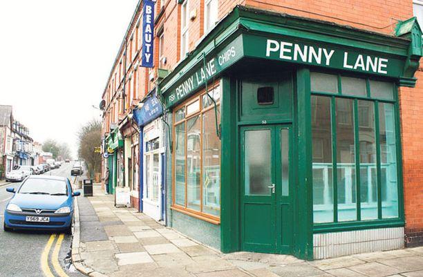Penny Lane ei aivan vastaa laulun antamaa mielikuvaa