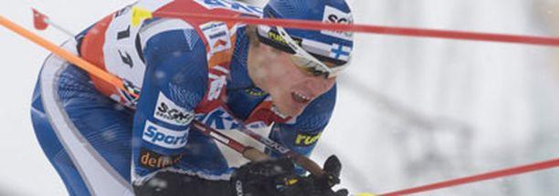 Janne Ryynänen nappasi iloisen nelossijan.