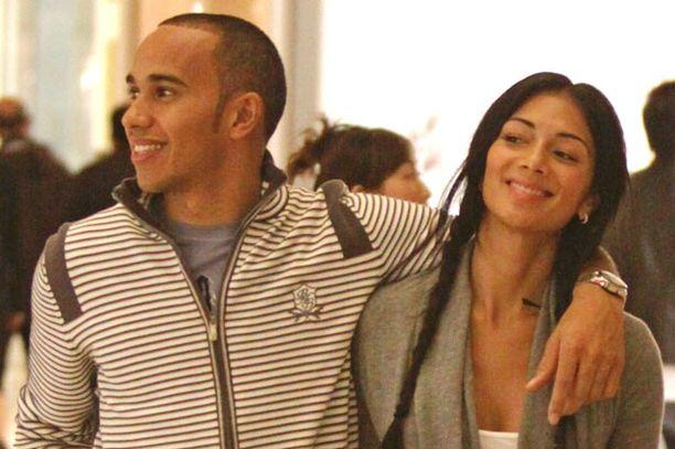 Nicole ja Lewis ovat komea pari.