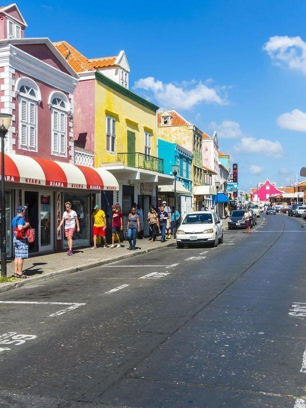 Curaçaon saari sijaitsee Karibianmerellä. Arkistokuva.