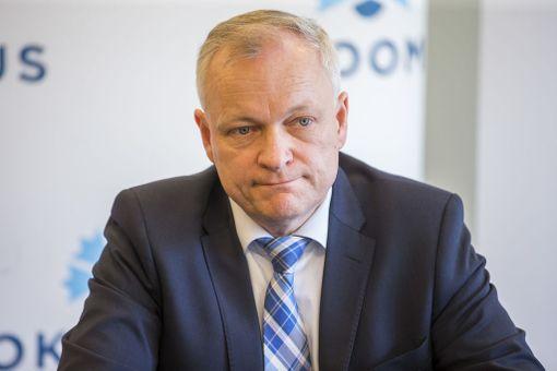 Kokoomuksen eduskuntaryhmän puheenjohtaja Kalle Jokinen.