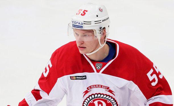 Miro Aaltonen hakee paikkaa Toronto Maple Leafsin NHL-miehistöstä ensi kaudella.