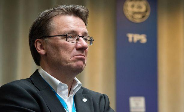 TPS:n päävalmentaja Mika Laurikaisella on käsissään nuori ja lahjakas joukkue.