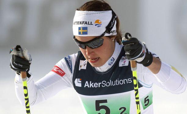 Ruotsin Anna Haag aikoo ensi syksynä juosta New Yorkin maratonin. Hän haastoi Aikku Saarisen mukaan rapakon taakse.