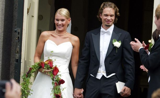 Heidi ja Niklas Sohlberg menivät naimisiin vuonna 2005.
