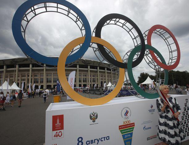 Moskovan olympialaiset kisattiin 1980.