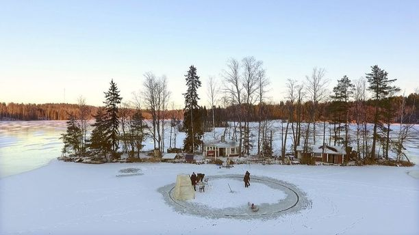 Janne Käpylehdon jääkaruselli on kiinnostanut ympäri maailmaa.