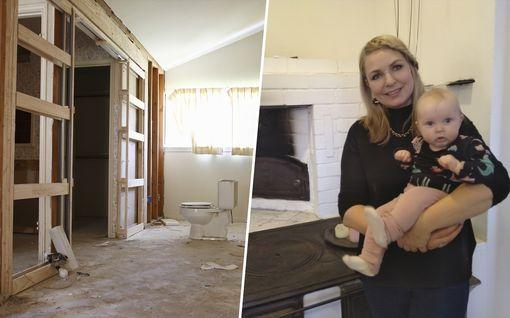 Pommikuntoinen talo, 150 000 euron remontti ja patterit Virosta – tällainen on Anun ja Manun unelmakodin resepti