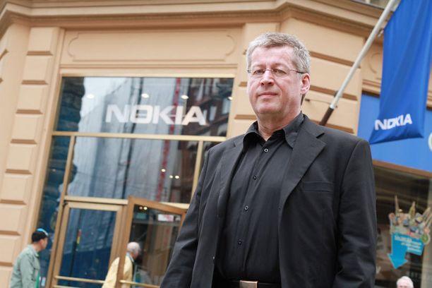 Nokian entinen innovaatiojohtaja Juhani Risku.