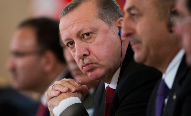 Erdogan on ajautunut törmäyskurssille Euroopan kanssa.