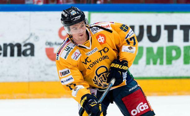 Lukon Sheldon Brookbankilla on vyöllään 351 NHL-ottelua.