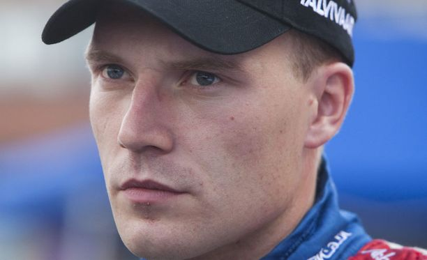 Jari-Matti Latvala ajoi ulos.