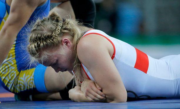 Petra Ollin nuorten MM-painit päättyivät alkuunsa.