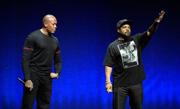 Dr. Dre ja Ice Cube ovat räpin kaikkien aikojen vaikutusvaltaisimpia tekijöitä.