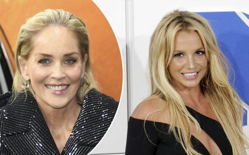 Sharon Stone paljastaa: Britney Spears pyysi häneltä apua jo vuonna 2007