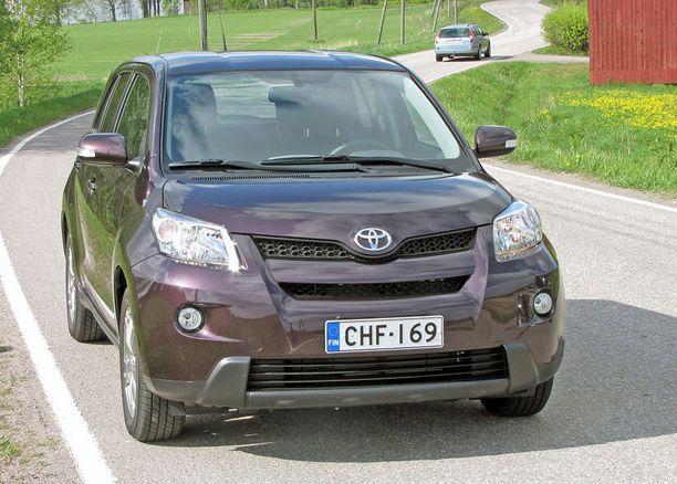Vikoja täysi nolla 3 vuotiaiden ikäluokassa: Toyota Urban Cruiser.