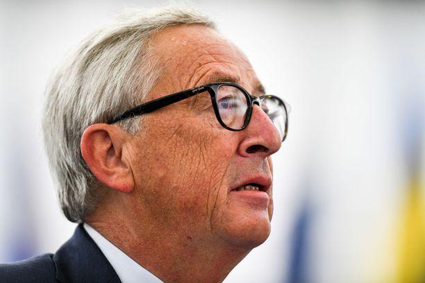 Jean-Claude Juncker teki ehdotuksensa syyskuussa.
