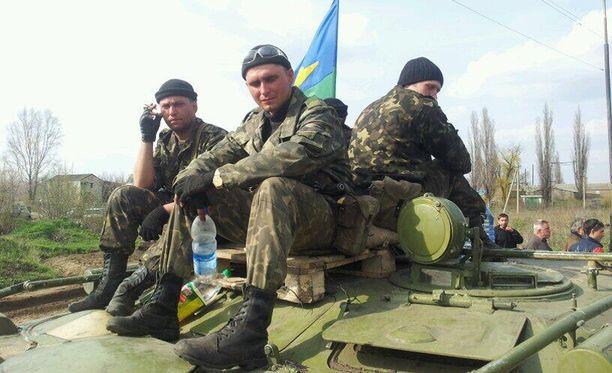 Ukrainan joukot ovat seisseet Kramatorskin lähellä sijaitsevassa kylässä jo kolme päivää paikallaan.