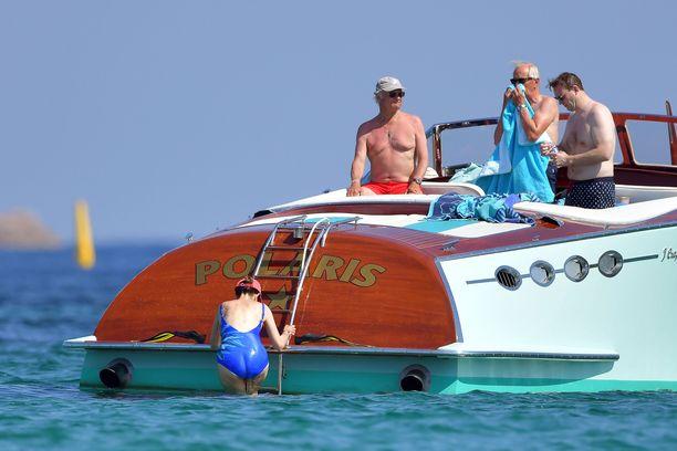 Kaarle Kustaa ja Silvia ovat lomailleet jo monia kesiä St. Tropezissa.