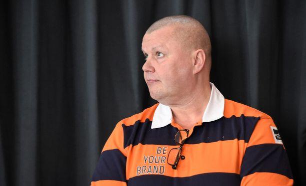 Timo Jutila oli Suomen jääkiekkomaajoukkueen joukkueenjohtaja vuodet 2004-2014.