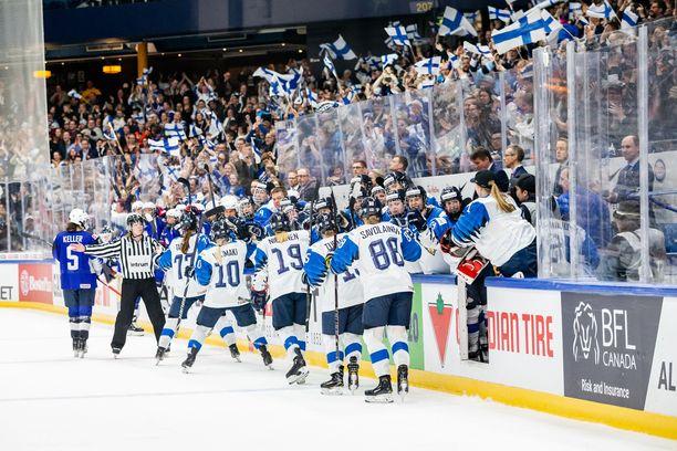 Kun kaikki näytti vielä hyvältä. Susanna Tapani iski Suomen tasoihin MM-finaalissa.