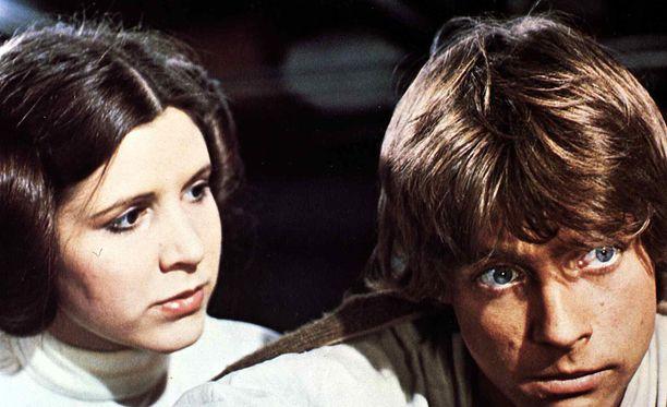 Carrie Fisher tunnettiin erityisesti prinsessa Leian roolista.
