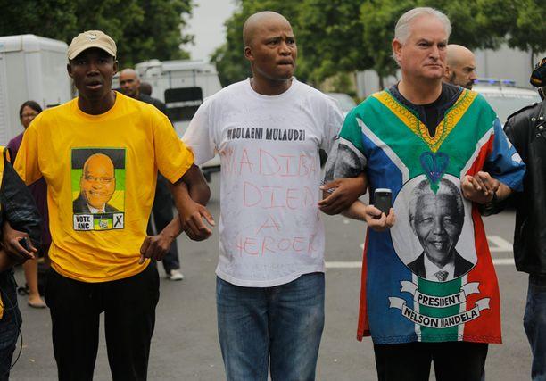 Mandela oli johtamassa liikettä, joka lopetti rotuerottelupolitiikan 90-luvulla Etelä-Afrikassa.