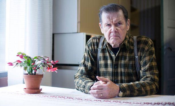 Antti Litja vakuutti Mielensäpahoittajan pääroolissa vuonna 2014.