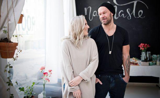 Nanna ja Jere Karalahti avasivat hiljattain Keravalle oman liikuntapäiväkodin.