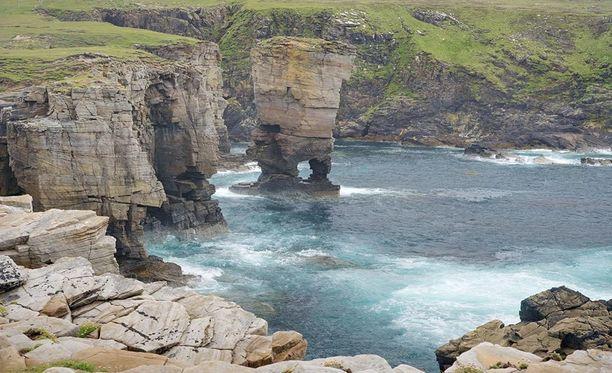 Vedet Orkney-saaren ympärillä ovat kylmiä ja datakeskuksen jäähdytyksessä pystytään säätämään energiaa.