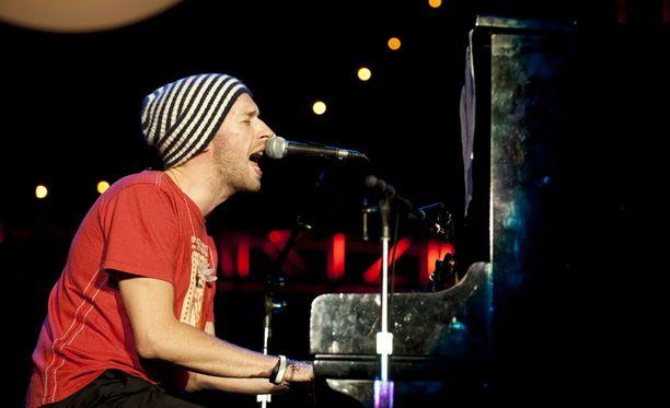 Coldplay on taas listaykkönen.