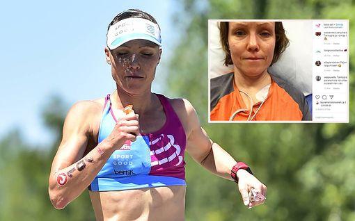 Ex-triathlonisti Kaisa Sali pääsi pois sairaalahoidosta – 34-vuotias kolarilaismies vangittu tapon yrityksestä