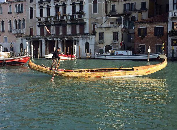 Illallinen tuli kalliiksi Venetsiassa.