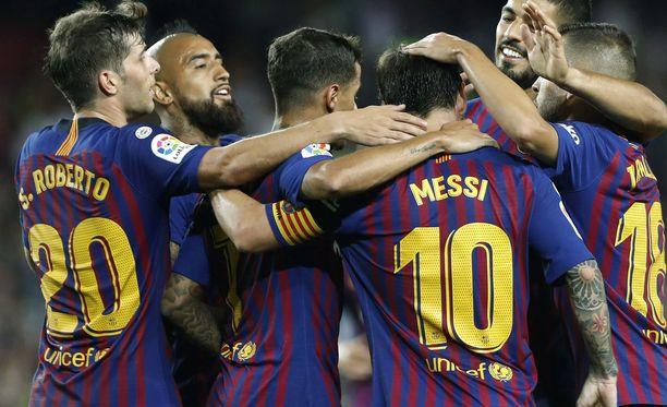 Barcelona riitti aihetta iloon sarja-avauksessa.
