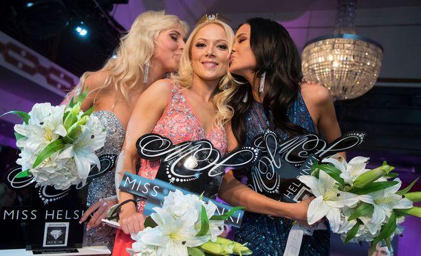 Janna-Juulia Vuorela voitti viime vuonna Miss Helsinki -kisan tittelin.