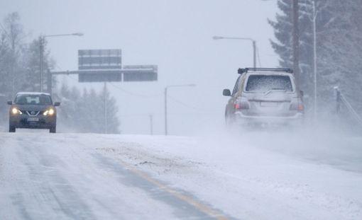 Forecan sääennusteen mukaan perjantaina ajokeli on huono erityisesti Pohjois-Pohjanmaalla ja Kainuussa.
