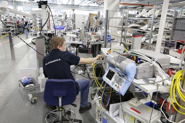 Planmeca Oy valmistaa hammashoitolaitteita, joita viedään yli sataan maahan.