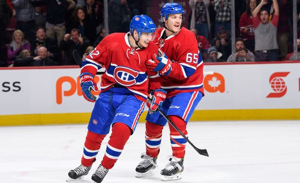 Montreal Canadiensin hyökkääjä Artturi Lehkonen iski joukkueensa 3-0-johtoon ensimmäisessä erässä. Canadiens voitti Colorado Avalanchen lopulta 10-1.